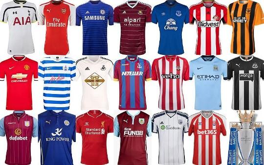 Mengenal Industrialisasi Jersey di Liga Inggris