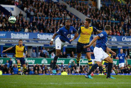 Pemain Arsenal dari Indonesia Cetak Gol Lawan Everton