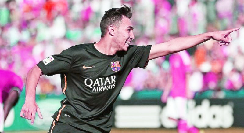 Mengenal Munir, Versatile Striker Muda Barcelona Baru