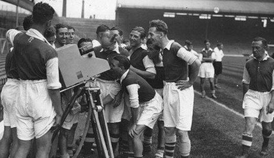 On This Day 1936, Sepakbola Pertama di Televisi