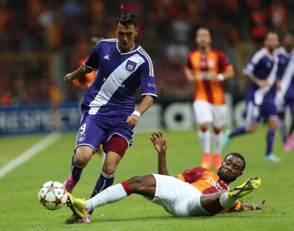 Galatasaray AS v RSC Anderlecht - UEFA Champions League