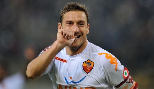 Tiga Gol Penting Francesco Totti