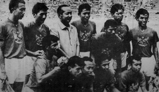 Sejarah Perkembangan Taktik Sepakbola di Indonesia (1960-1970)