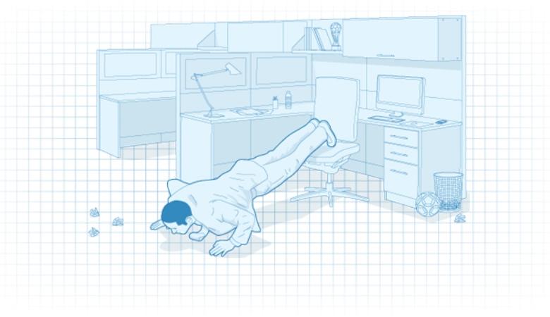 Tips Latihan Fisik di Kantor Anda