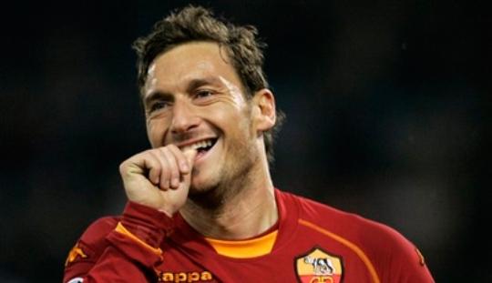 Lelucon-lelucon tentang Francesco Totti