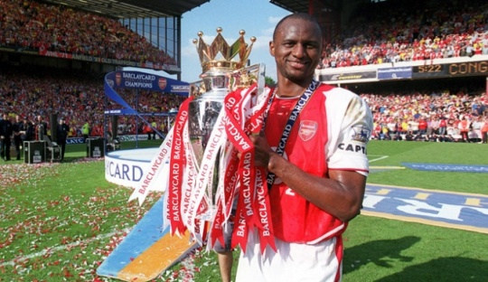 On This Day 1996, Awal Cerita Patrick Vieira di Arsenal