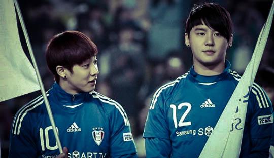 Sepakbola dan Boyband Korea