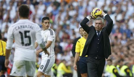 Pesan Ancelotti untuk (Pelatih) Real Madrid