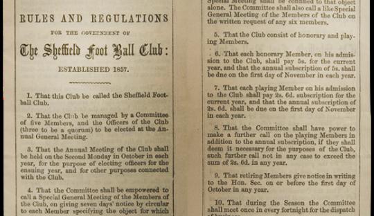 On This Day 1857, Lahirnya Klub Pertama di Dunia