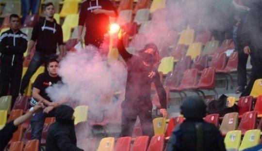 Rumania vs Hungaria: Rusuh di Bucharest