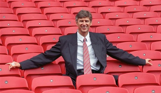 On This Day 1996, Sang Profesor Tangani Arsenal