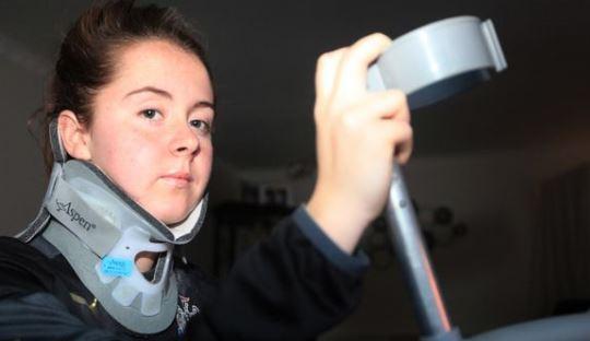 Patah Leher, Perempuan Ini Tak Ingin Diganti