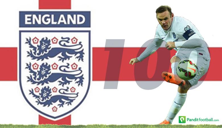 Infografis 100 Caps Wayne Rooney