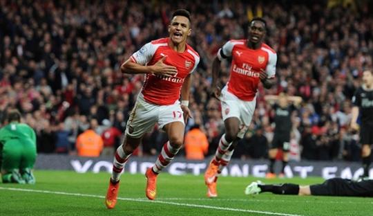 Sepakbola Jalanan Membuat Alexis Sanchez Tajam di Liga Primer
