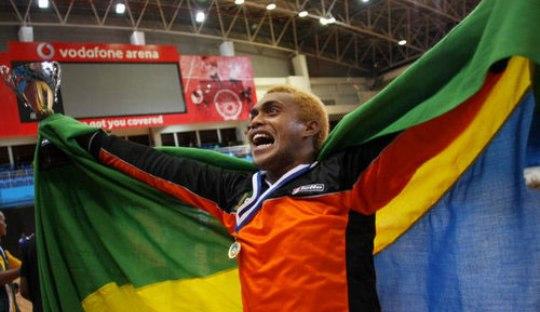 On This Day 2012, Satu Kiper Tiga Cabang Olahraga Kepulauan Solomon