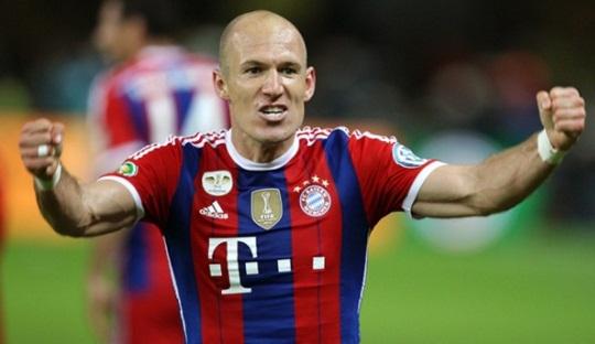 Lima Gol Terbaik Robben Bersama Bayern