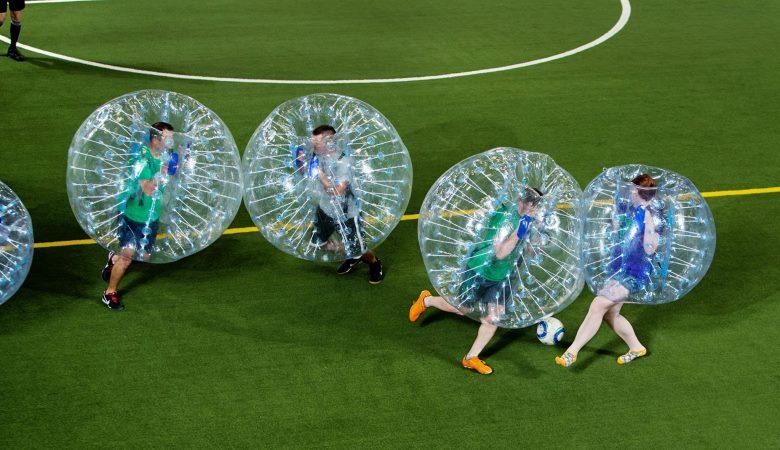 Bubble Football Cara Lain Menikmati Sepakbola