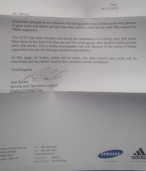 Surat Chelsea