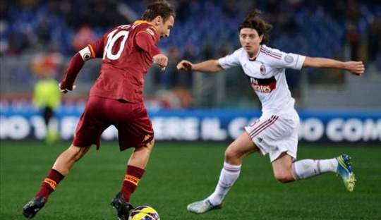 Prediksi Pertandingan AS Roma VS AC Milan
