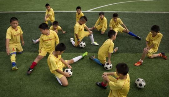 Pemerintah Cina akan Masukan Sepakbola pada Kurikulum di Sekolah