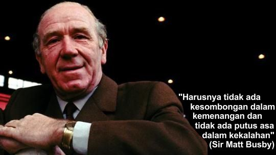 On This Day 1994, Menghormati Busby