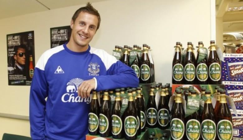 Perang Sepakbola dengan Sponsor Alkohol