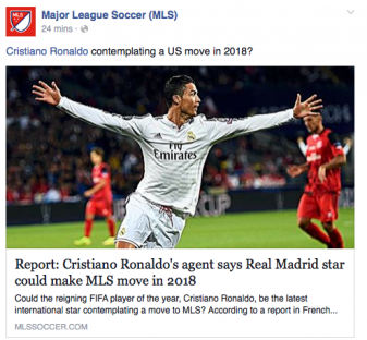 MLS Ronaldo