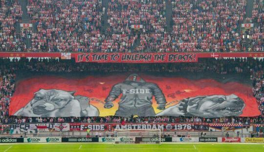F-Side, Sisi Buas Suporter Ajax Amsterdam