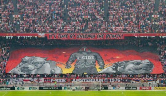 F-Side, Sisi Buas Suporter Ajax Amsterdam