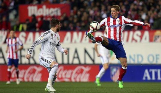 Preview Real Madrid vs Atletico Madrid Dalam Grafis
