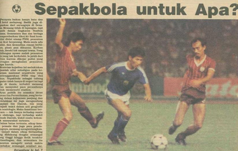 Polemik Persija-Ahok dan Anatomi (Pengelolaan) Sepakbola Indonesia