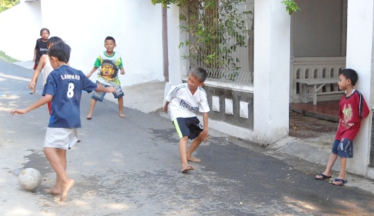 Laws of The Game Sepakbola Anak-Anak