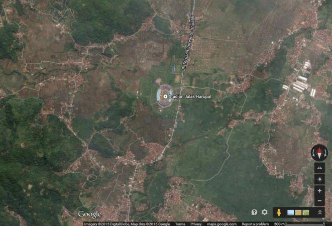 Si Jalak Harupat, Soreang  (sumber: Google Maps)