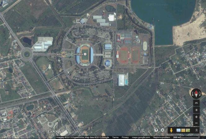 Gelora Sriwijaya, Palembang (sumber: Google Maps)