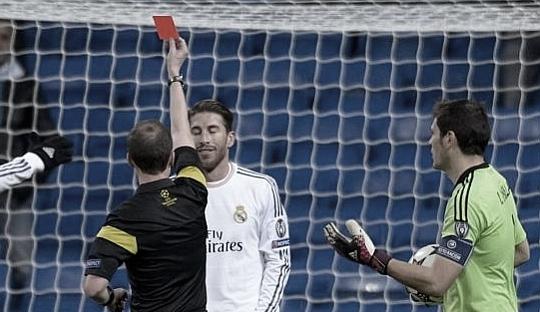 Kartu-kartu Sergio Ramos