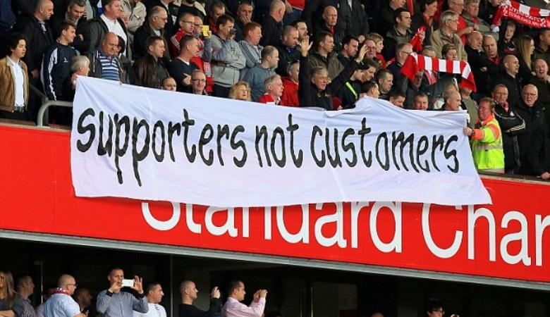 Manifesto Suporter Inggis Menentang Industri Sepakbola