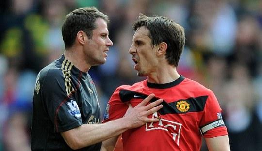 Carragher dan Neville: Duel dan Duet di Dunia yang Berbeda