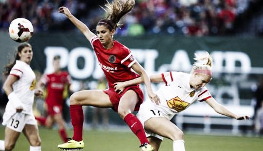Liga Sepakbola Perempuan Amerika Serikat Resmi Dimulai