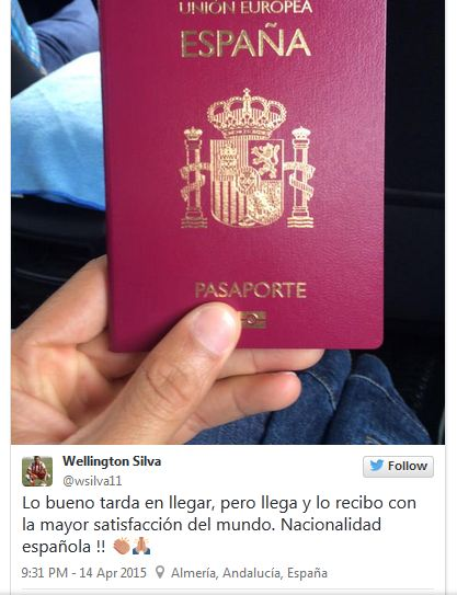 Paspor Wellington