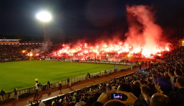 Menyaksikan Secara Langsung Panasnya Eternal Derby Serbia