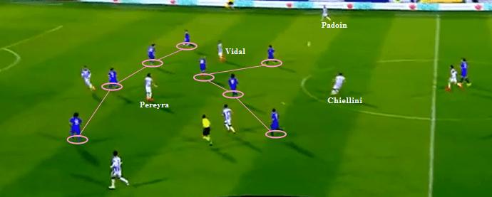 Fiorentina memadati area tengah.