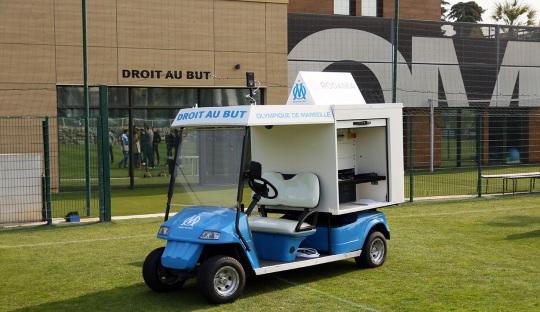 Mobil Canggih untuk Latihan Ciptaan Bielsa