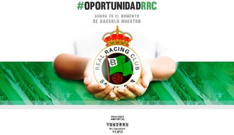 #OportunindadRRC, Gerakan Masif Penyelamatan Racing Santander