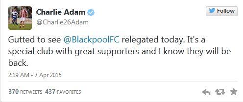 twitter Charlie ADams