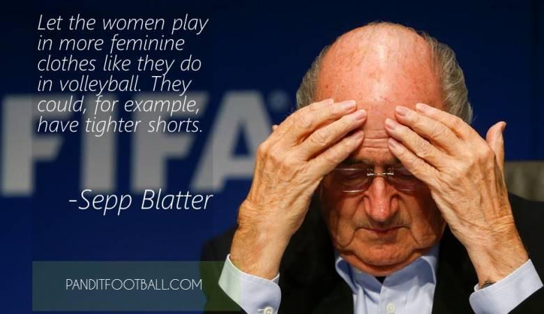 Pasca-Blatter: Jangan Biarkan Blatter dan Kroninya Menarik Nafas
