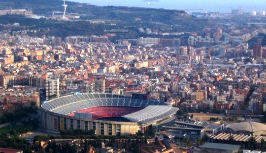 Simbiosis Mutualisme antara FC Barcelona dan Kota Barcelona