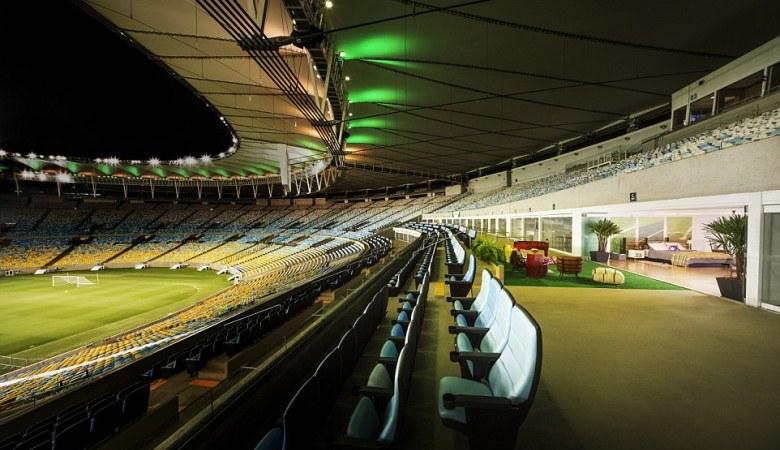 Bermalam di Stadion Maracanã