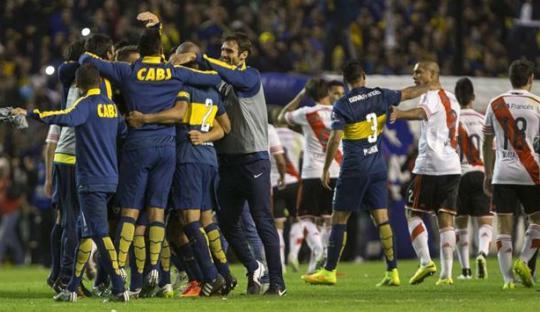 Kemenangan Boca Juniors Buka 'Trilogi' Superclasico 2015