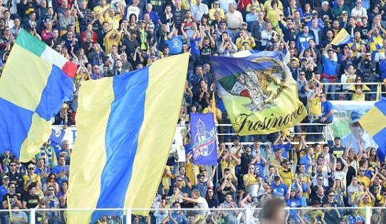 Frosinone, Kesebelasan Kecil Debutan Serie A