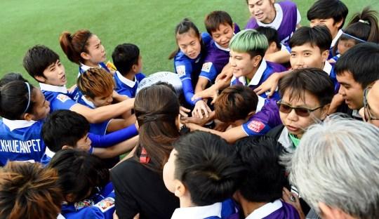 Mimpi-mimpi Perempuan Thailand di Piala Dunia